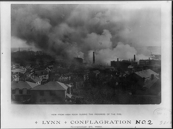 The Great Lynn Fire of 1889