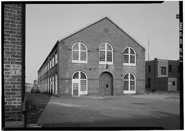 Watertown Arsenal, Building No. 51, Watertown, Mass