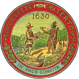 Official seal of Watertown, Mass