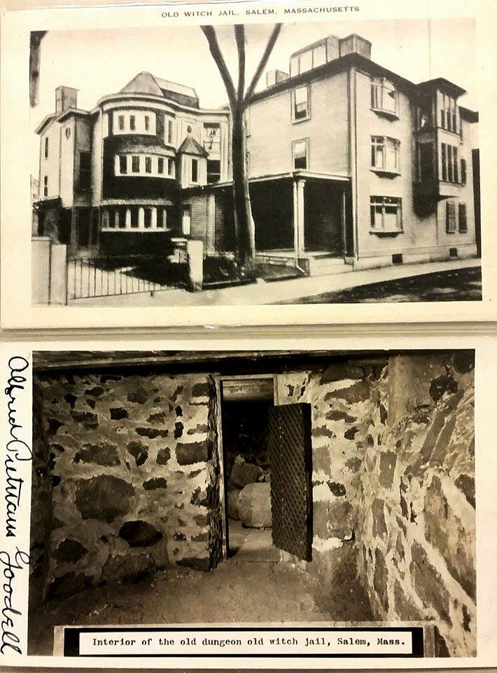 Interior and Exterior of Old Witch Jail, Salem, Mass