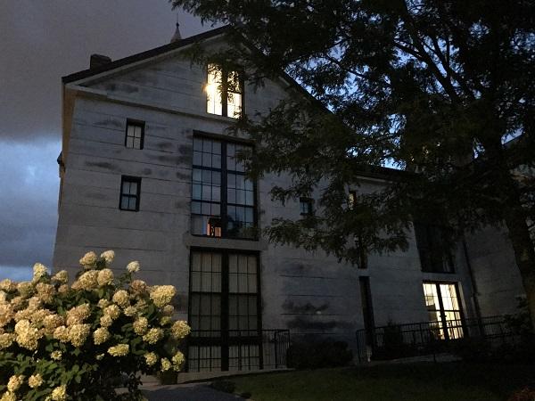 The old Salem jail in Salem, Mass