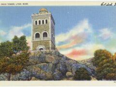 High Rock Tower, Lynn, Mass, postcard circa 1930