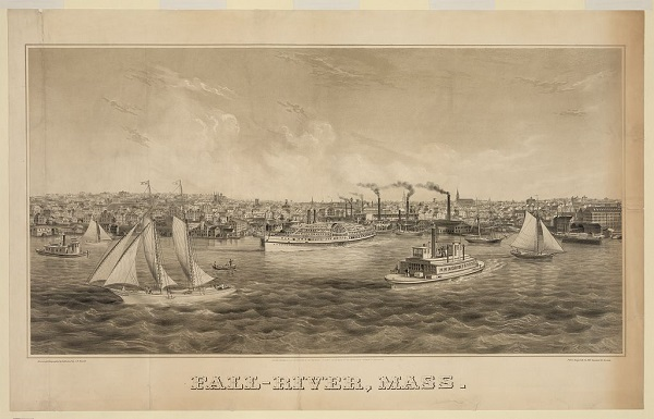 Fall River, Mass in 1870