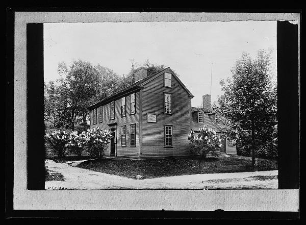 Hancock-Clark House, Lexington, Mass, circa 1900-1915