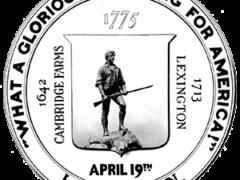 Official seal of Lexington, Mass