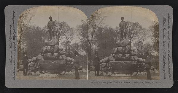 Minute Man Statue, Lexington, Mass, circa 1905