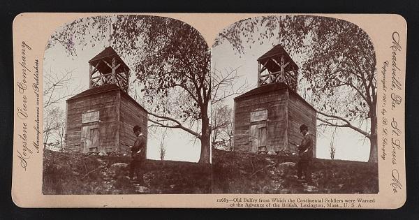 Old belfry, Lexington, Mass, circa 1900