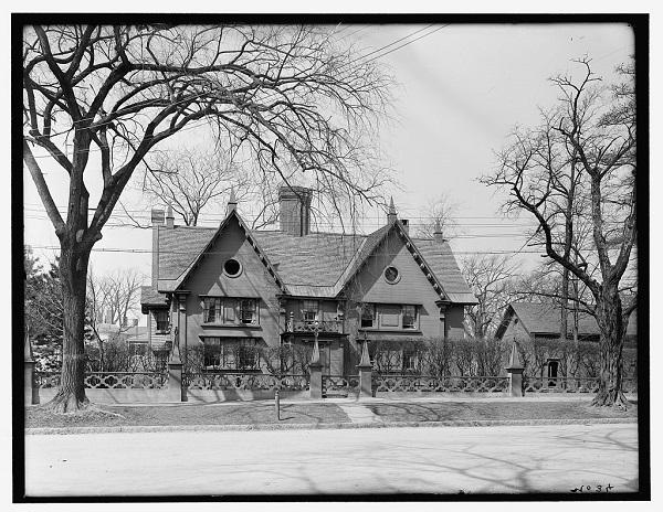 Pickering House, Salem, Mass circa 1910